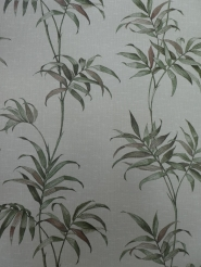 vintage wallpaper green plant