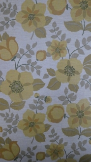 papier peint vintage jaune brun