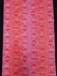 red pink triangles in blocks
