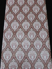 bruin roze medaillon