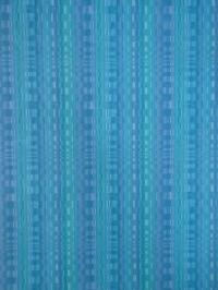 papier peint vintage figure géometrique bleu